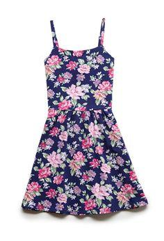 Floral Sun Dress (Kids)   FOREVER21 girls - 2000121621