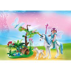 Playmobil Wróżki Wróżka aquarella na jednorożcowej polanie, 5450, klocki