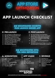 App Store Optimization - App Store Marketing - ASO - App Launch