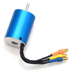 HJ 6200KV KV6200 Sensorless Brushless Motor for RC Car / Boat - Sky Blue + Silver. Feature: 100% Brand new; High torque & high efficiency; The overall efficiency exceeds 90 percent; Low heat production, long lifetime, strong overload protection; High quality materials adopted: high intense aluminum alloy anodizing shell, front & back cover; High-performance temperature-resistant magnetic steel and imported high-speed bearing; High quality and durable in use.. Tags: #Hobbies #Toys #R/C #Toys…