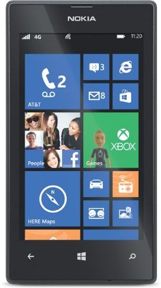 Stay connected with this AT&T Nokia Lumia 520 mobile phone, which features 4G speed for rapid data transfer. The color touch screen with 800 x 480 resolution simplifies navigation and offers a clear view of photos, videos, documents, messages and more.