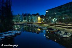 Heure bleue – ap-photographe  #bluehour #heurebleue #nantes River, Outdoor, Nantes, Board, Photography, Outdoors, Outdoor Games, The Great Outdoors, Rivers