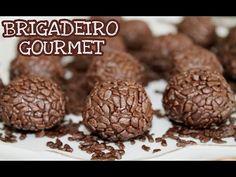 Curso Brigadeiros Gourmet - Parte 2 / 100% Grátis - YouTube Stuffed Mushrooms, Make It Yourself, Sweet, Food, Youtube, Easy Chicken Pot Pie, Easy Carrot Cake, Truffles, Recipes