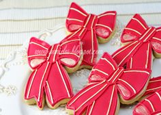 Haniela's: ~Christmas Ribbon Cookies~