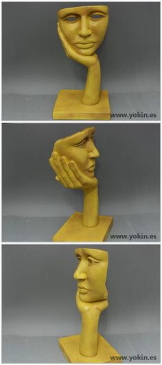 NOSTALGIA - beautiful sculpture by Yokin.