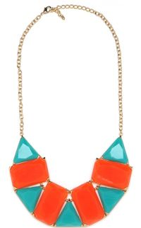 coral and turquoise tribal