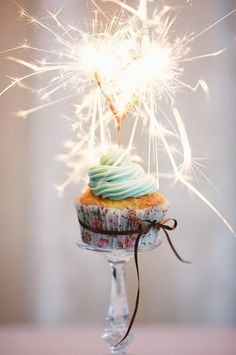I totally want to use sparklers instead of candles on my next birthday cake.