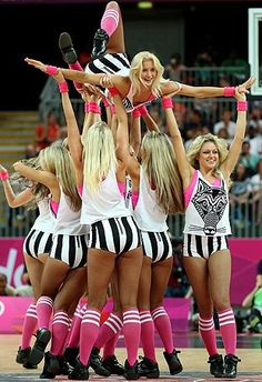 So beach & regular volleyball, basketball & handball have cheerleaders?! Why aren't they showing us this!!
