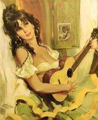 Gypsy Art Nouveau Women | Gypsy Beauty