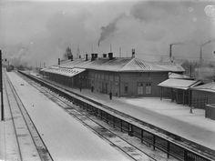 <p>Tampereen rautatieasema täyttää 80 vuotta – katso animaatioista, miten…