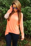Sparkle In The Dark Top: Peach ON MARCH 16, 2014, IF you use the code THOLLISREP at checkout, you pay just $20.69 for this top (all five colors)!!!
