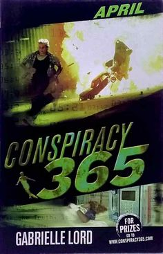1st edition April by Gabrielle Lord Conspiracy 365 very good used cond paperback