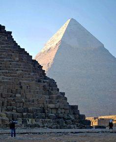 The pyramids at Giza