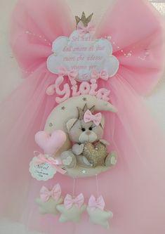 Art Girl, Teddy Bear, Crafty, Mobiles, Door Hangings, Garland, Crafts, Party, Handmade Crafts