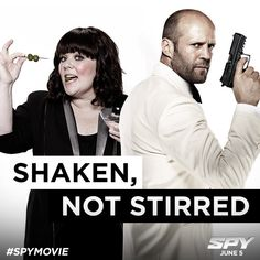 Spy Trailer: Melissa McCarthy Goes Undercover as Jason Statham Fights Her for Control of the CIA Mission! 2015 Movies, Good Movies, Awesome Movies, Meghan Markle, Melissa Mccarthy Movies, Statham Movies, Movie Stars, Movie Tv, Los Angeles