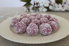 Princess truffles (with Raspberry)