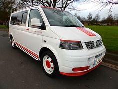 eBay: 2007 07'reg VW Transporter T5 1.9 TDi LWB Campervan**Full Side Conversion** #vwcamper #vwbus #vw Vw T5 Camper, Vw Bus, Volkswagen, Campervan, Vans, Vehicles, Ebay, Van, Car