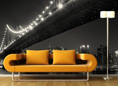 Stare and be amazed at Manhattan skyline at night in your living room! Get this InkShuffle #mural for $35 off by entering code:ink72!  Additional discounts this year: Code:light23 to get $35 off Iluma products Code:beauty22 to get $200 off on all orders worth $2000 & up!  Plus FREE shipping!