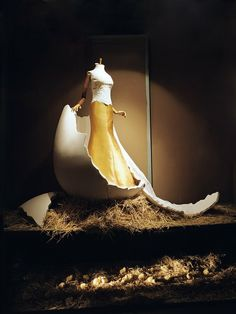 Window display  created by Bomarzo, a design firm based in Spain