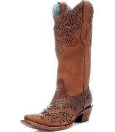 Womens Corral Python Fango Boots Honey #C2684 - Google Search