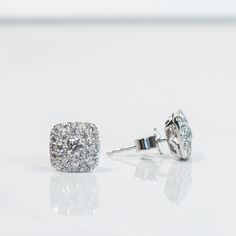Experience the rich, white luster of 14K Solid White Gold and Brilliant Natural Diamonds- just listed on Etsy: http://etsy.me/1Ps44ja
