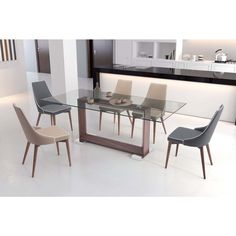 Rectangle Glass Dining Table 10 marvelous modern glass dining tables to inspire you today