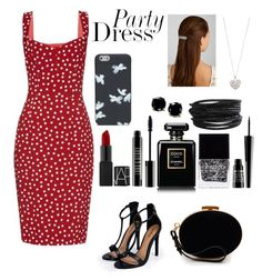 """""""#PartyDress"""" by ellen2104 ❤ liked on Polyvore featuring Boohoo, Nina Ricci, Lord & Berry, Chanel, Dolce&Gabbana, Butter London, B. Brilliant, Pieces, Accessorize and Marc by Marc Jacobs"""