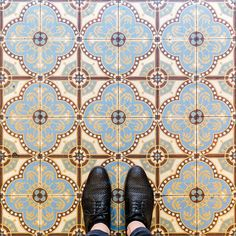 The decorativeness, bringing beauty into the everyday experience. Sebastian Erras Photography - Parisian Floors @parisianfloors