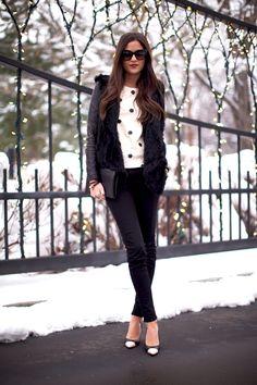 Chic Winter Wear.