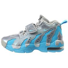 promo code 047a8 75b2b Nike Air DT Max  96 Gs Big Kids 616502-004 Silver Blue Athletic Shoes Size  4.5