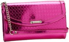 Nine West Magic Mirror Clutch,Taffy Pink Multi,One Size