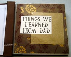 fathers day gift idea
