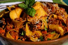 Pappardelle with Amazing Slow Cooked Meat