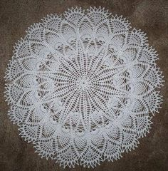 Crochet Lace free doilies pattern to printing Free Doily Patterns, Crochet Thread Patterns, Crochet Designs, Knitting Patterns, Free Pattern, Dress Patterns, Crochet Home, Crochet Crafts, Crochet Projects