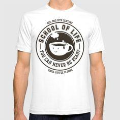 #society6 #schooloflife #coffeeshirt #funnycoffeeshirt #coffee