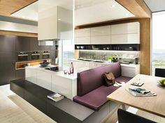 Hochglanz, Fronten, Küchenfronten, Idee, Design, Küche, Lack ... | {Dan küchen mit kochinsel 19}