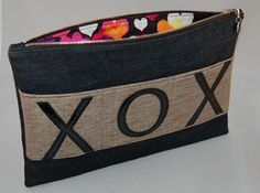 XOX Gemma Clutch lining. $65 from HKelly designs, Ltd.