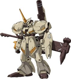 """The Galbaldy Rebake (ガルバルディリベイク) is a Gunpla appearing in Gundam Build Divers, and is based on the RMS-117 Galbaldy β. Notes& Trivia The name """"Rebake"""" is likely a nod to ASW-G-11 Gundam Gusion Rebake. Likewise, part of Galbaldy Rebake's aesthetic and weaponry seem to take cues from the Post..."""