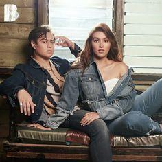 Enrique Gil, Liza Soberano, Star Magic, American Actress, Lisa, Ruffle Blouse, Actresses, Stars, Couple Photos