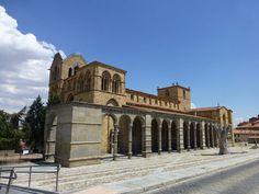 Basílica de San Vicente, Ávila, España