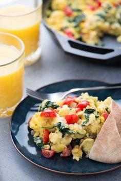 Recipe: Greek Scramble — Breakfast Recipes from The Kitchn