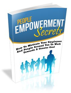 People Empowerment Secrets - ebook   Masters Resale Rights