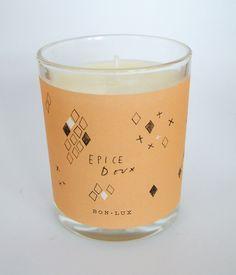 epice doux votive candle www.bon-lux.com