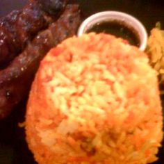 Pinoy Barbeque with atchara and Java Rice