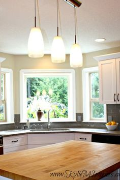 best paint colours for a light or yellow toned oak butcher block countertop or cabinet would be florentine plaster by benjamin moore