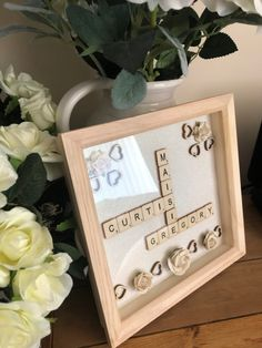Personalised Frames, Handmade Frames, Handmade Gifts, Memory Wall, Unique Jewelry, Etsy, Ideas, Home Decor, Craft Frames