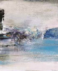 Zao Wou-Ki (1920-2013)  1.10.81  signed in Chinese; signed 'ZAO' (lower right) signed in Chinese, signed and titled 'Zao Wou-Ki 1.10.81' (on the reverse) oil on canvas  73 x 60 cm. (28 3/4 x 23 5/8 in.)  Painted in 1981