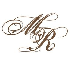 monogram bryllup - Google Search