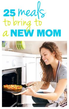 25 REAL FOOD Meals to Bring To A New Mom - These are simply, healthy, yummy dishes made with REAL FOOD that a new mom would love to receive! This is a must-pin!