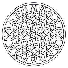 Celtic knot-work by Peter Mulkers Rosetta AutoCAD: